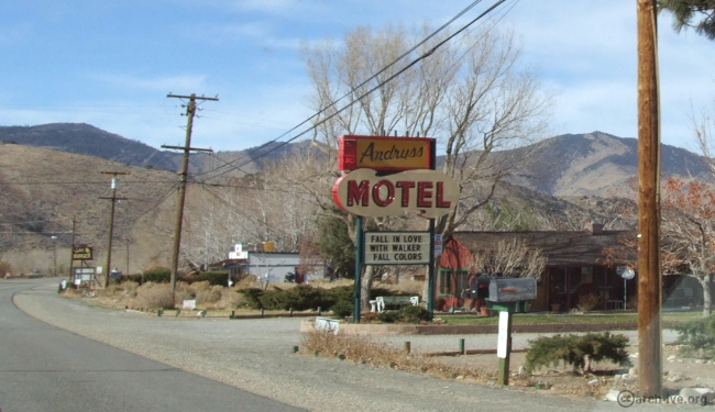 Andruss Motel - Walker CA