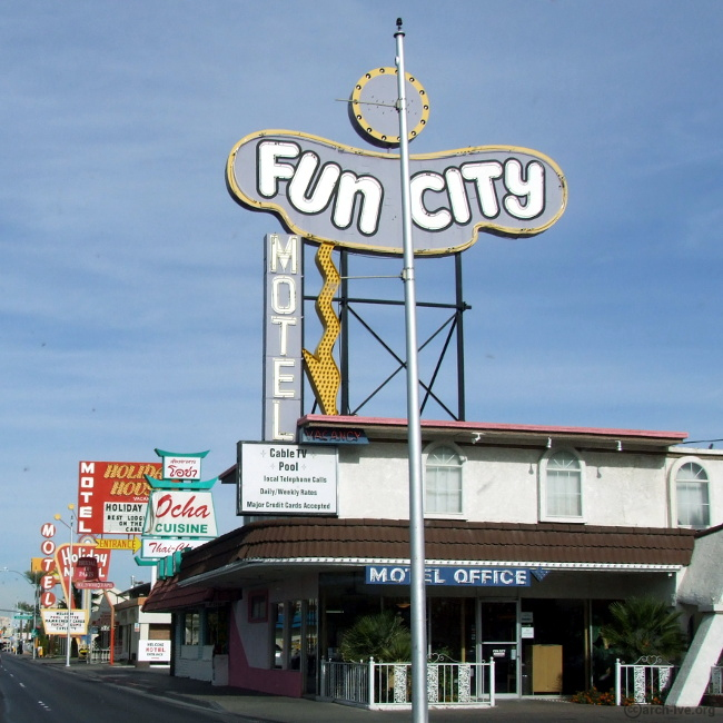 Fun City Motel - Las Vegas NV