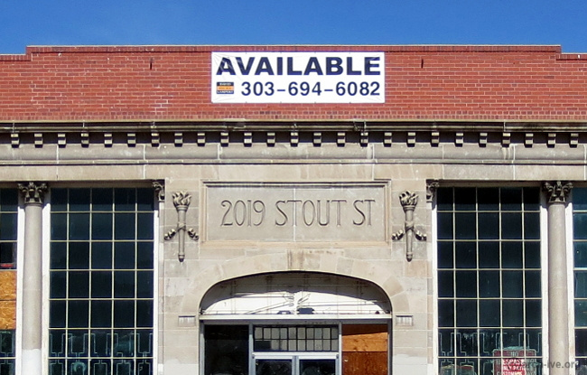 2019 Stout St. - Denver CO