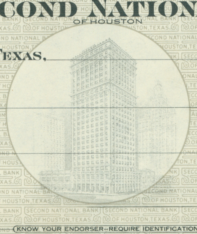 Second National Bank - Houston