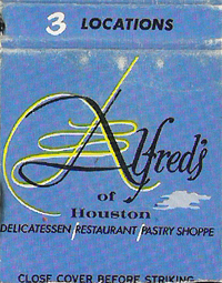 Alfred's Delicatessen - Houston TX