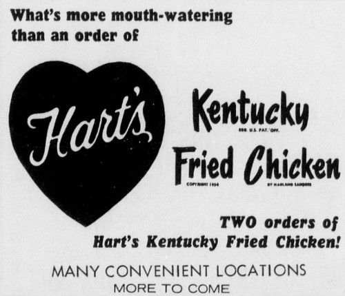 Hart's Kentucky Fried Chicken - Houston TX