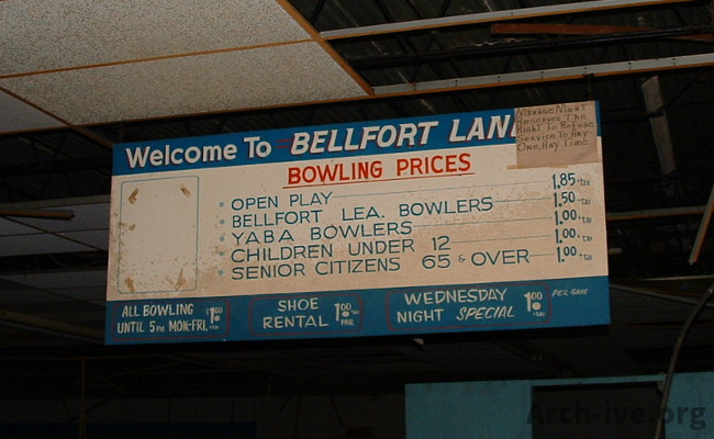 Bellfort Lanes - Houston TX