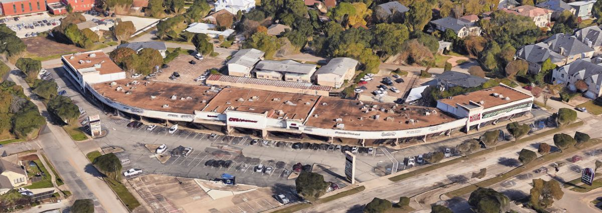 Braeswood Center aerial image