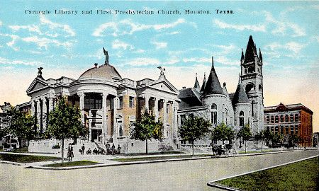 Carnegie Library - Houston TX