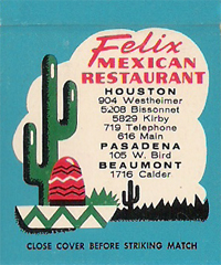 Felix Mexican Restaurant - Texas