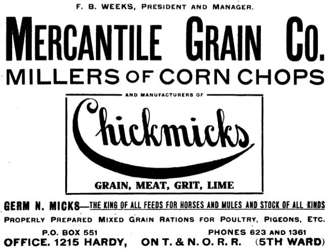 Mercantile Grain Co. - Houston TX