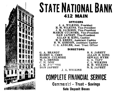 State National Bank - Houston TX