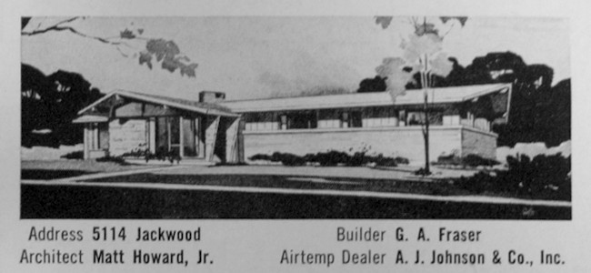 1955 Houston Parade of Homes