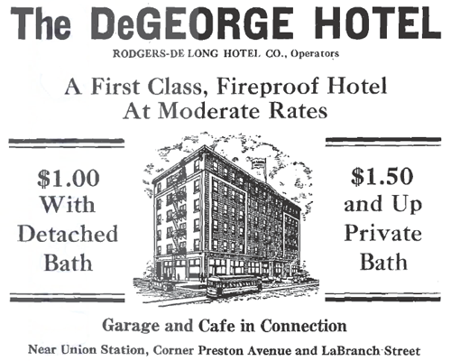 De George Hotel - Houston TX