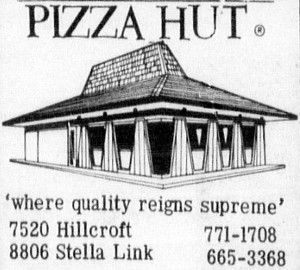 Pizza Hut - 1969