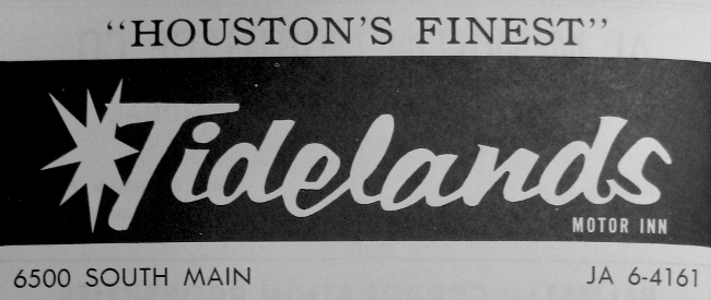 Tidelands Motor Inn - Houston TX