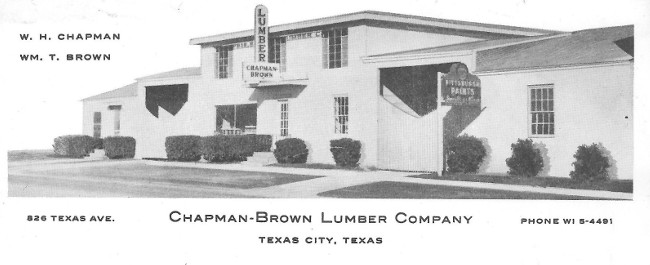 Chapman-Brown Lumber Company - Texas City