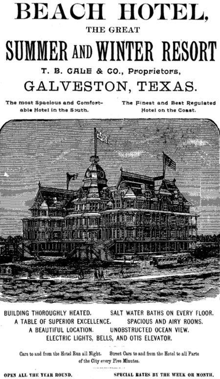 Beach Hotel Galveston